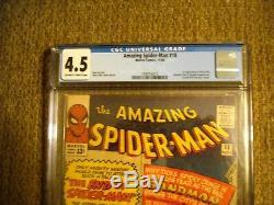 Amazing Spider-Man # 18 CGC 4.5 VG+ 1st app. Of Ned Leeds (HOBGOBLIN)