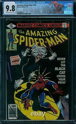 Amazing Spider-Man 194 CGC 9.8 1st Black Cat