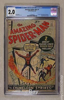 Amazing Spider-Man (1963 1st Series) #1 CGC 2.0 0120892006