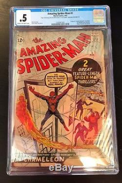Amazing Spider-Man (1963 1st Series) #1 CGC. 5 1243061002