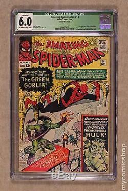 Amazing Spider-Man (1963 1st Series) #14 CGC 6.0 QUALIFIED 0306825002