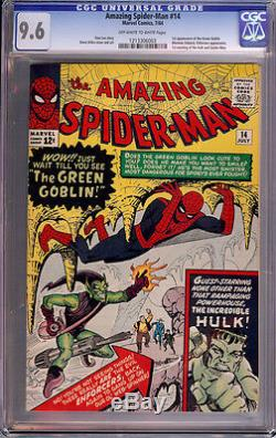 Amazing Spider-Man (1963 1st Series) #14 CGC 9.6 1213306003