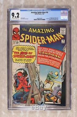 Amazing Spider-Man (1963 1st Series) #18 CGC 9.2 0962675002