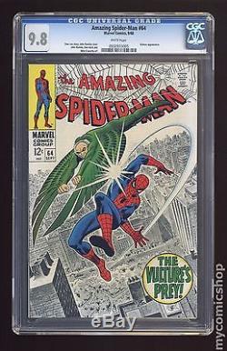 Amazing Spider-Man (1963 1st Series) #64 CGC 9.8 0932933005