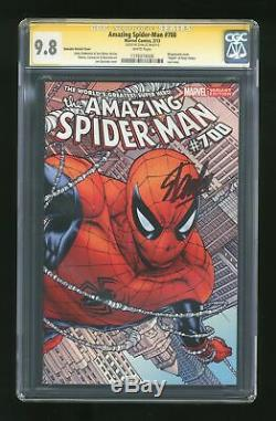 Amazing Spider-Man (1998 2nd Series) 700E CGC 9.8 SS Stan Lee 1176974006