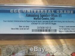 Amazing Spider-Man (1st Series) #1 1963 CGC. 0156811010