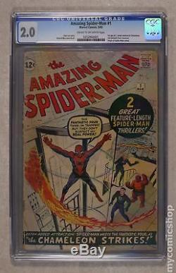 Amazing Spider-Man (1st Series) #1 1963 CGC 2.0 0252866001
