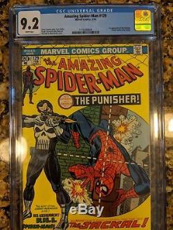 Amazing Spider-Man (1st Series) #129 1974 CGC 9.2