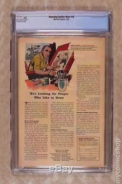 Amazing Spider-Man (1st Series) #14 1964 CGC 6.0 1245937006