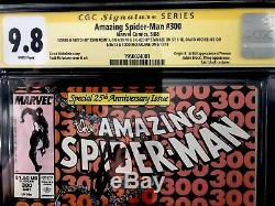 Amazing Spider-Man (1st Series) #300 1988 CGC 9.8 SS 4X Plus Romita Sketch