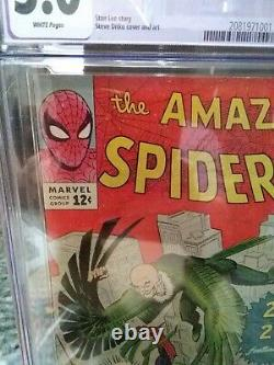 Amazing Spider-Man #2 CGC 5.0Marvel 1963 1st Vulture! Key Silver! White pages