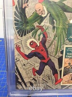 Amazing Spider-Man #2 CGC 6.0 OWithW Pages Stan Lee Story/Ditko 1st Vulture 3rdSpi