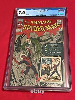 Amazing Spider-Man #2 CGC 7.0 1st. App. Vulture
