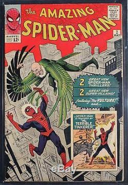 Amazing Spider-Man #2 (Marvel 1963) CGC FN 6.0 Universal