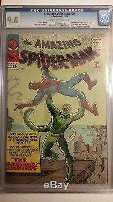 Amazing Spider-Man #20 CGC 9.0 1st Scorpion Appearance
