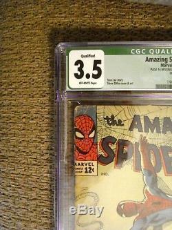 Amazing Spider-Man #20 CGC Qualified Grade 3.5 VG- 1st. App. & origin of Scorpio