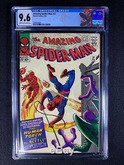 Amazing Spider-Man #21 CGC 9.6 (1965) Super HTF 9.6! NO RESERVE