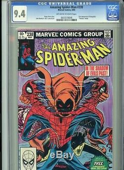 Amazing Spider-Man 238 CGC 9.4 1st Hobgoblin Tattooz inside