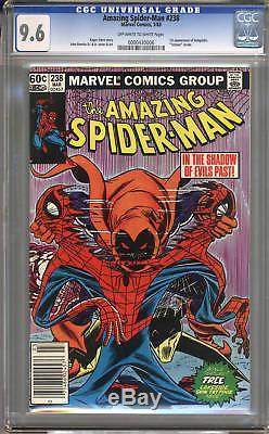Amazing Spider-Man #238 CGC 9.6 NM+ Universal CGC #0000430006