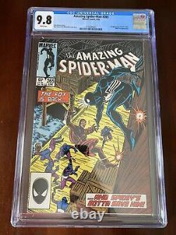 Amazing Spider-Man 265 CGC 9.8 First Silver Sable