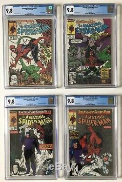 Amazing Spider-Man 298 299 300 301-316-325 328 CGC 9.8 GEMS MINT FULL SET + 361