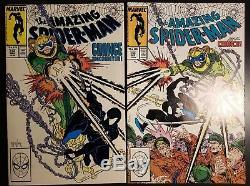 Amazing Spider-Man 298, 299 HI GRADE 300 CGC 9.6 NM+ WHITE 1st app Venom