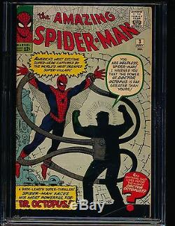 Amazing Spider-Man # 3 1st Doctor Octopus CGC 6.5 OWithWHITE Pgs