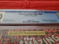 Amazing Spider-Man #300 (1988) CGC 5.0 1st full appearance of Venom! NEWSSTAND