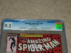 Amazing Spider-Man #300 1988 CGC Graded 9.2 Venom Todd McFarlane Cover Art