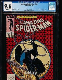 Amazing Spider-Man # 300 1st full Venom & Todd McFarlane art CGC 9.6 WHITE Pgs