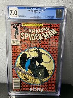 Amazing Spider Man 300 CGC 7.0 First Appearance Of Venom News Stand
