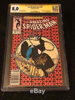 Amazing Spider-Man #300 CGC 8.0 Signed by Stan Lee First Full Venom Appearance