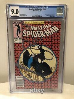 Amazing Spider-Man #300 CGC 9.0 1st Full Appearance Venom NEWSSTAND Version