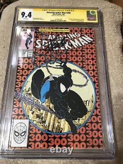 Amazing Spider Man 300 CGC 9.4 SS Stan Lee Auto 5/1988 McFarlane 1st Venom