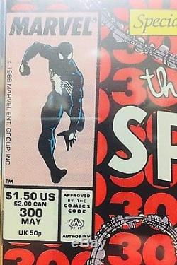 Amazing Spider-Man #300 CGC 9.4 White Pages 1st Appearance of Venom