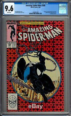 Amazing Spider-Man 300 CGC 9.6 NM+ 1st Appearance Of Venom Marvel Comics 1988