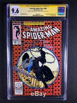 Amazing Spider-Man #300 CGC 9.6 SS (1988) Signed 2X Stan Lee & Todd McFarlane