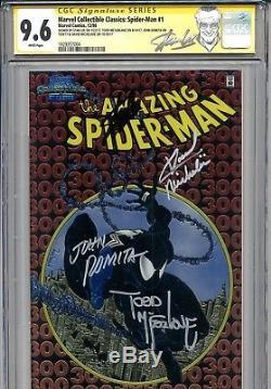 Amazing Spider-Man 300 CGC 9.6 SS Chromium Lee McFarlane Michelinie 1st Venom