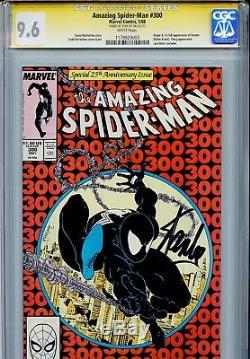 Amazing Spider-Man 300 CGC 9.6 SS Stan Lee Todd McFarlane Michelinie 1st Venom