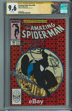 Amazing Spider-Man #300 CGC 9.6 Signature Series Signed by David Michelinie