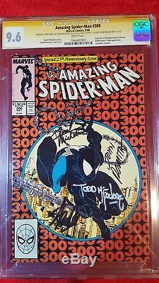Amazing Spider-Man #300 CGC 9.6, Stan Lee, Romita Sr. McFarlane & Micheline