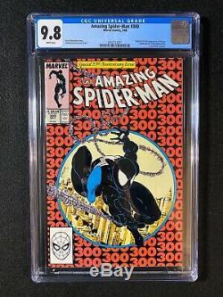 Amazing Spider-Man #300 CGC 9.8 (1988) Origin & 1st full appearance of Venom