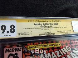 Amazing Spider-Man 300 CGC 9.8 5X signed including WE ARE VENOM! RARE
