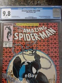 Amazing Spider-Man # 300 CGC 9.8 NM/MT 1st Venom, Todd McFarlane