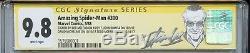 Amazing Spider-Man 300 CGC 9.8 SS X5 Stan Lee McFarlane Michelinie 1st Venom 298