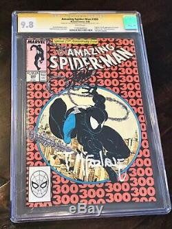 Amazing Spider-Man 300 CGC 9.8 SS signed Stan Lee / Todd McFarlane