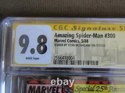 Amazing Spider-Man 300 CGC 9.8 Signed McFarlane