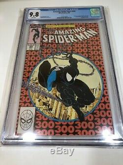 Amazing Spider-Man # 300 CGC 9.8 White (Marvel 1988) 1st appearance of Venom