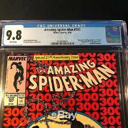 Amazing Spider-Man #300 CGC 9.8 White Pages Marvel 1988 First App Of Venom