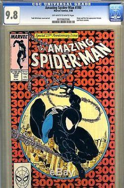 Amazing Spider-Man #300 CGC GRADED 9.8 origin and first full Venom